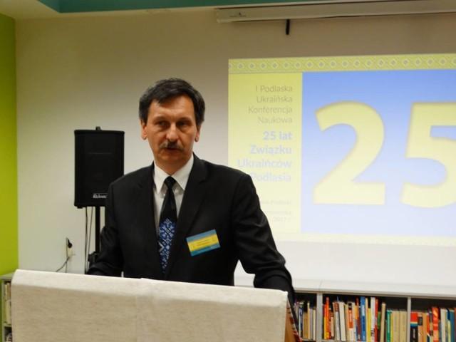 Grzegorz Kuprianowicz, przewodniczący Związku Ukraińców w Polsce