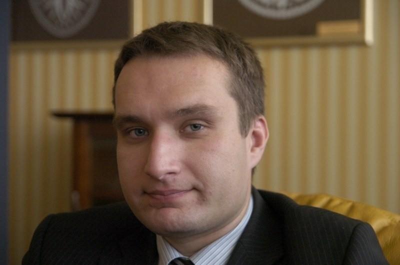 Mariusz Wiśniewski, poznański radny PO.