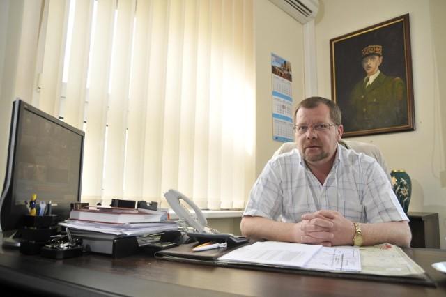 Andrzej Karaś, dyrektor szkoły na Krzesiach