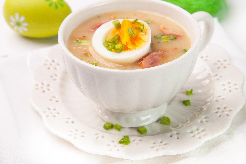 Zurek Staropolski Na Wielkanocne Sniadanie Przepis Glos
