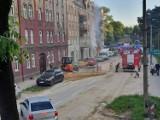Katowice: Pożar w sklepie Odido w Dąbrówce Małej.  Z kamienicy ewakuowano 23 osoby