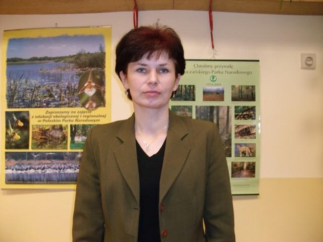 Renata Grzegorczyk, nauczycielka biologii w V Liceum Ogólnokształcącym im. Marii Curie-Skłodowskiej w Lublinie