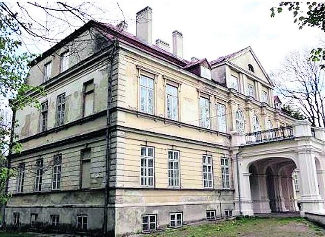 Pałac w Kijanach to perełka, ale wymaga remontu