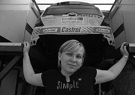 Dzisiaj Karolina wyrusza na mistrzostwa Polski.
