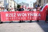 Marsz Rzezi Wołyńskiej w Warszawie. Pochód upamiętnił krwawe wydarzenia z 1943 roku