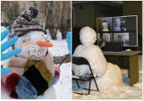 Zima w województwie lubelskim. Jak ulepić bałwana ze śniegu? Niektórzy mają na to wyjątkowe pomysły. Zainspiruj się!