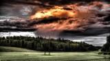 Ostrzeżenie pogodowe pierwszego stopnia o burzach z gradem