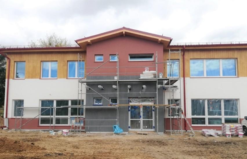Nowy budynek Szkoły Podstawowej Specjalnej w Warczu
