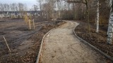 Leszno. Nowy park będzie gotowy do lata. Nie tylko zaoferuje relaks, ale będzie miał też tor rowerowy [ZDJĘCIA]