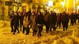 Strajk Kobiet. Protest w Białymstoku 1 lutego 2021. Czarny marsz po centrum miasta (ZDJĘCIA)