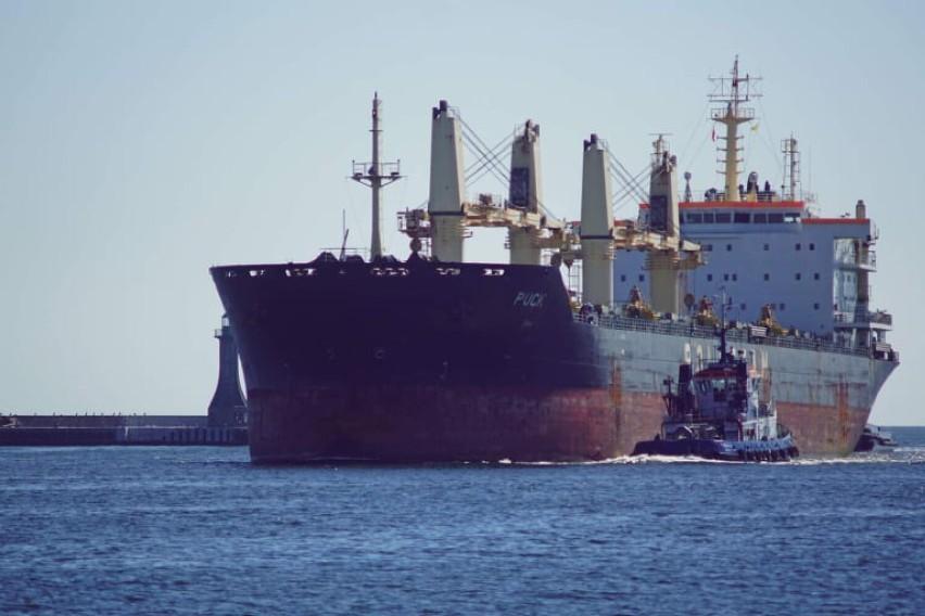 MS Puck zacumował przy nabrzeżach gdyńskiej stoczni!