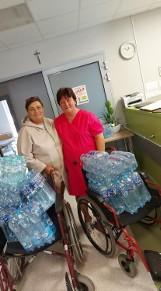Wspiera obornicki szpital. Mieszkanka gminy Oborniki zorganizowała zbiórkę darów