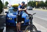 Rajd po życie córki. Mikołaj Drożdżyński wyruszył w samotną walkę! 400 kilometrów na rowerze po życie córki!