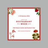 Restaurant Week od 1 kwietnia. Rezerwacje trwają