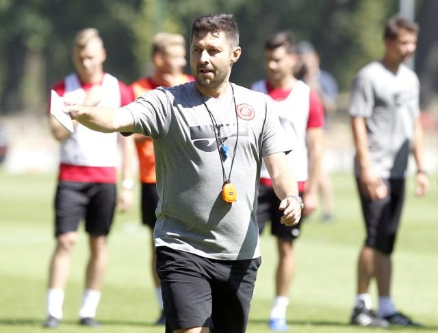 Trener Widzewa Łódź ciągle czuje potrzebę wzmocnień