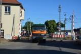Uwaga kierowcy! Przejazd kolejowy w Sulechowie zamknięty. Trwa tam remont