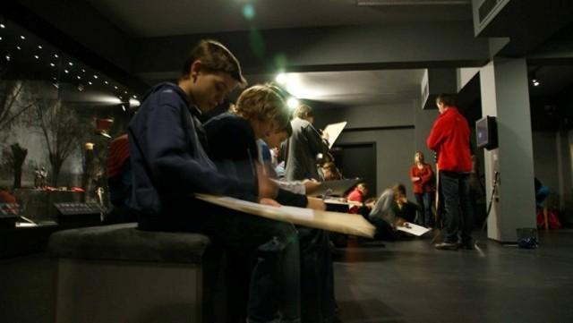 Lekcja muzealna w Licheniu