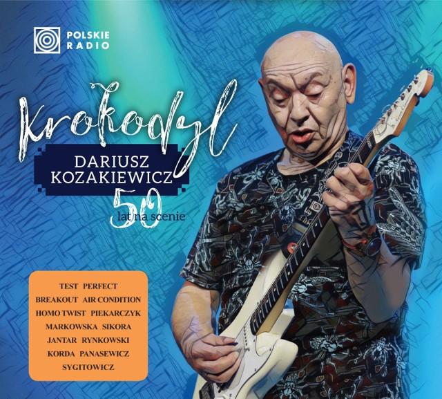 """Dariusz Kozakiewicz, gitarzysta i kompozytor, świętuje 50-lecie działalności artystycznej. Z tej okazji ukazała się płyta """"Krokodyl"""""""