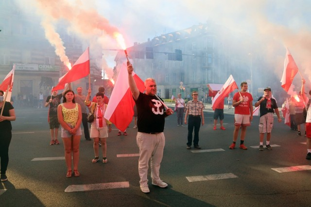 Legniczanie uczcili 76. rocznicę Powstania Warszawskiego.