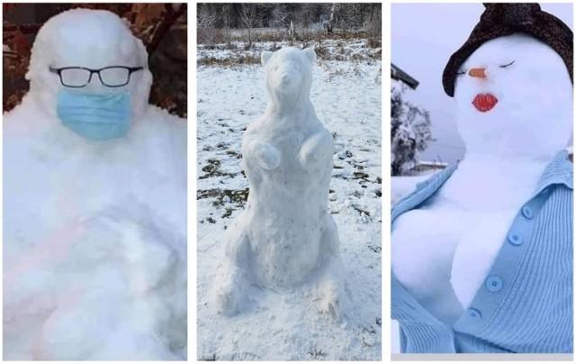 Polak nie bałwan i lepić także umie. W całej Polsce wróciła zima, więc czas na rzeźbienie w śniegu. Niektórzy to mają wyobraźnię! Zobaczcie przegląd najfajniejszych bałwanów ze śniegu.  Na następnych zdjęciach kolejne bałwany i rzeźby ze śniegu. Aby przejść do galerii, przesuń zdjęcie gestem lub naciśnij strzałkę w prawo.