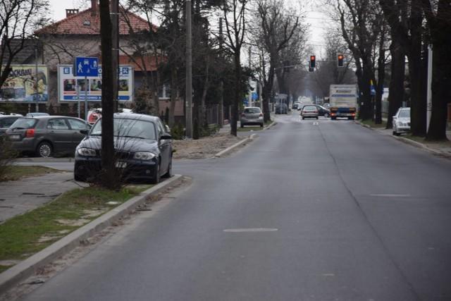 Rozpoczęła się przebudowa chodnika na ul. Nowa Krępa