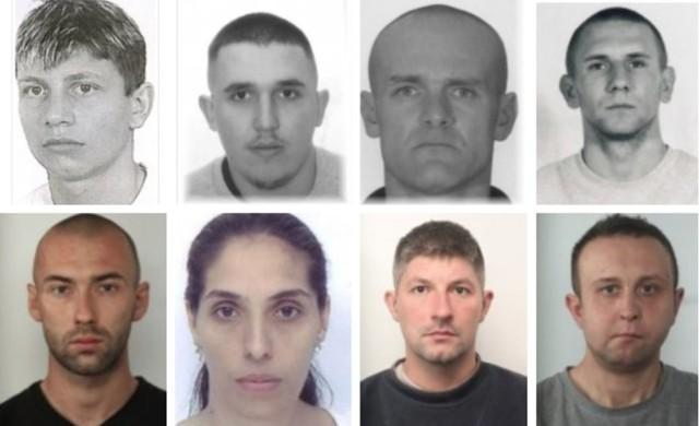 Jeśli widzieliście te osoby lub macie jakiekolwiek informacje na ich temat, zgłoście to poszczególnym jednostkom policji prowadzącym daną sprawę lub pod numerami  997 i 112.  Kliknij w kolejne zdjęcie i zobacz listy gończe >>>