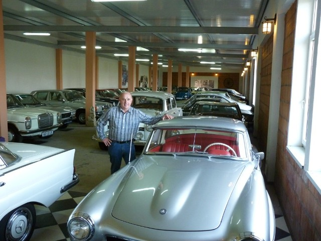 Grzegorz Krokowicz chce utworzyć muzeum starych samochodów