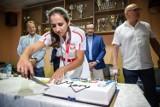 Tokio 2020. Wioślarska rodzina powitała w Krakowie medalistkę olimpijską Marię Sajdak [ZDJĘCIA]