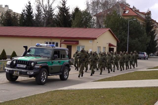 Bieg charytatywny odbył się na terenie komendy BiOSG w Przemyślu.