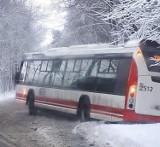 Fatalne warunki drogach w Wodzisławiu Śl. i powiecie [ZDJĘCIA]