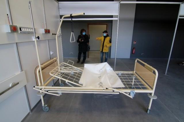 W hotelu przy Rakietowej urządzany jest szpital tymczasowy dla zakażonych