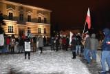 Nowy Tomyśl. Protestujący wyszli na ulice. Tym razem zjednoczyli się przeciwko partii rządzącej