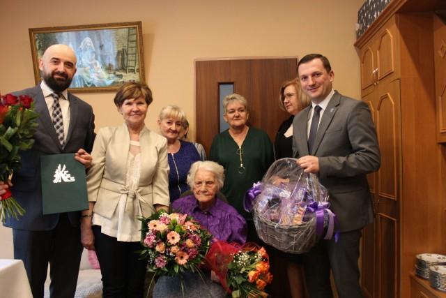 Setne urodziny Ireny Kostrubskiej z Kotunia