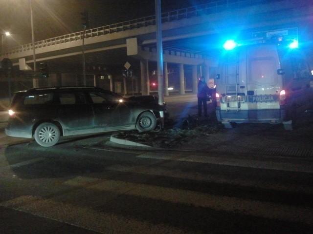 Wypadek na Hallera w Katowicach