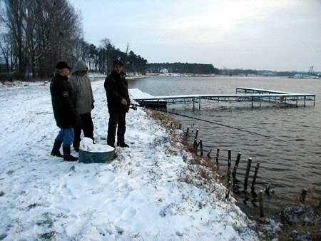 Na pstrągi ze Strykowa trzeba poczekać do wiosny Fot. Grzegorz Gałasiński