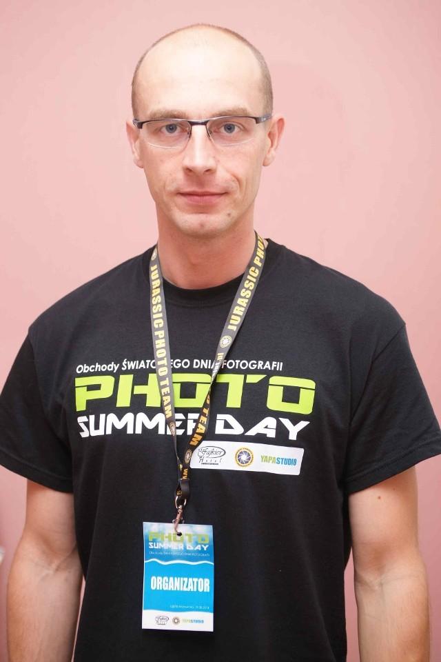 Jacek Pałucha, prezes Jurassic Photo Team.