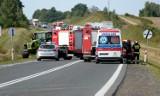 Groźny wypadek na obwodnicy Chojnic 19.09.2020 (zdjęcia i wideo)