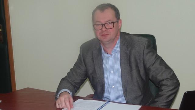 Starosta pleszewski Maciej Wasielewski