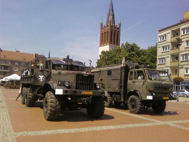 Zlot pojazdów militarnych w ubiegłym roku można było oglądać na Kopcu Wyzwolenia