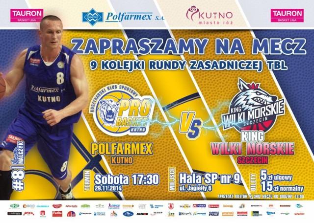Jutro mecz Polfarmexu Kutno