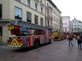 Akcja straży pożarnej na starówce. Fałszywy alarm pożarowy w Pizzy Hut na ulicy Szerokiej [zdjęcia]