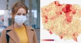 Koronawirus w woj. śląskim. Sprawdź, gdzie wskaźnik zakażeń jest najwyższy