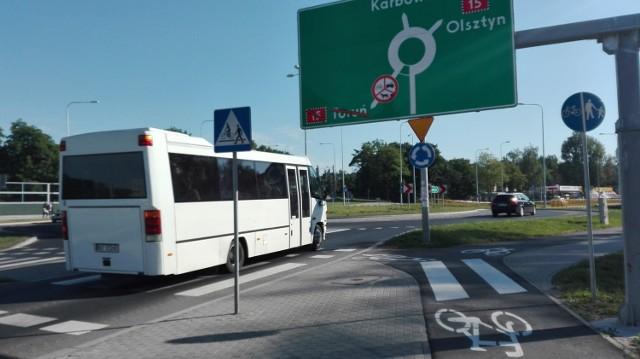 Na znakach przy wjeździe na obwodnicę (zdjęcie z wczoraj) mają się pojawić wskazania na Sierpc, ponieważ kierowcy dojadą w tym kierunku istniejącą aleją Piłsudskiego.