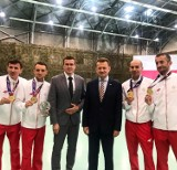 Na VII Wojskowych Igrzyskach Sportowych Marcin Chabowski w drużynie zdobył złoto!
