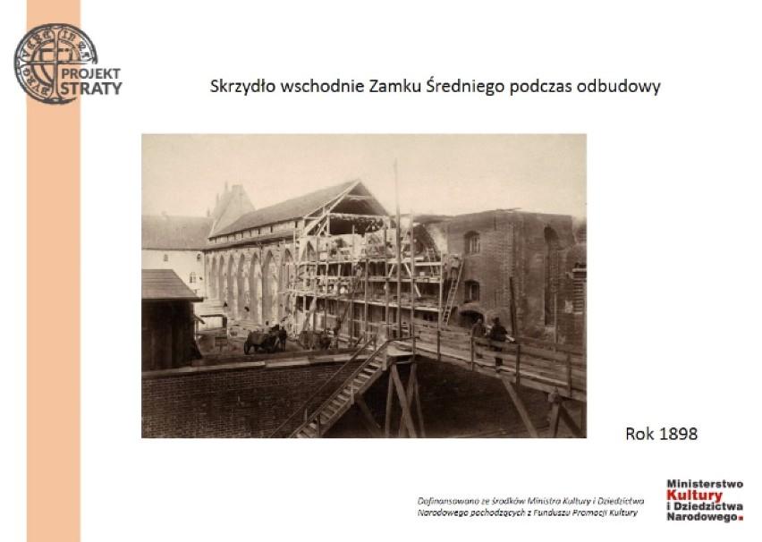 Malbork. Taki zamek i miasto widać w sprawozdaniach niemieckiego towarzystwa. Nowa publikacja Muzeum Zamkowego