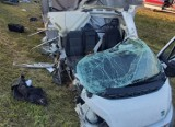 Groźny wypadek na autostradzie A1 w kierunku Gdańska [9.09.2021 r.]. Poszkodowany trafił do szpitala