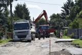Osiedle Halinów w Skierniewicach – ruszyła przebudowa ulic osiedlowych ZDJĘCIA