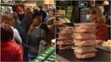 Tarnów. Tłok na otwarciu supermarketu Netto przy ulicy Kościuszki. Filety z kurczaka na promocji rozchodziły się w oka mgnieniu [ZDJĘCIA]