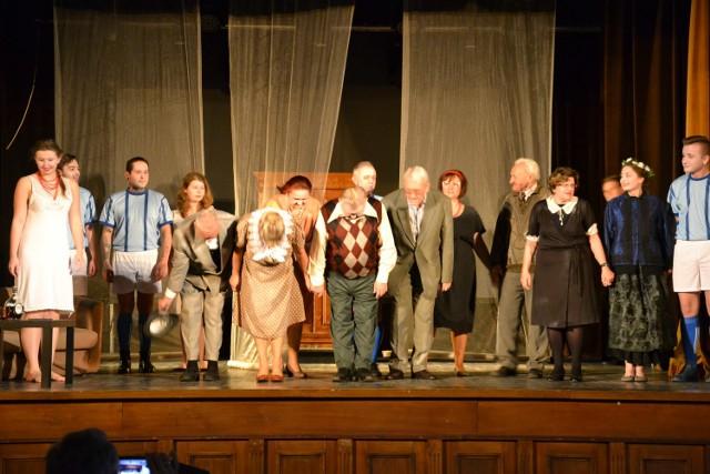 Spektakl w Starochorzowskim Domu Kultury