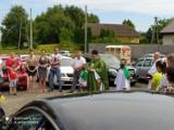 Poświęcenie pojazdów i błogosławieństwo dla kierowców przekazał ks. Tadeusz Budacz z Polskokatolickiej parafii św. Barbary